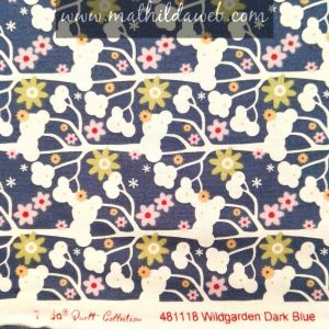 MATHILDA®/Tilda wildgarden dark blue