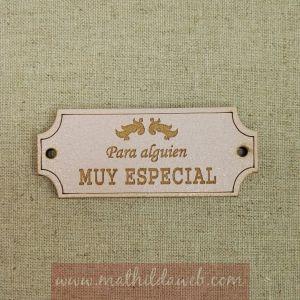 MATHILDA® ARTE011-RO etiqueta para alguien muy especial