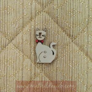 MATHILDA® CAS0422 gatito con lazo rojo