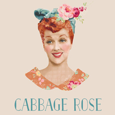 Tilda® Cabbage Rose